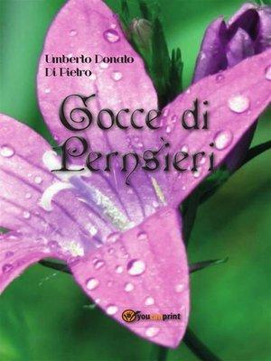 cover image of Gocce di pensieri
