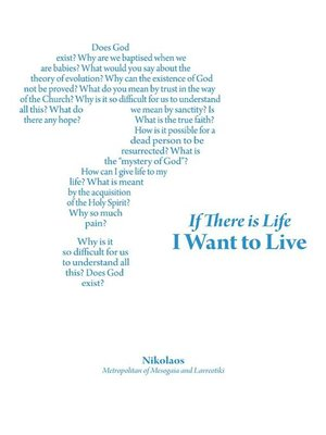 cover image of If There is Life I Want to Live