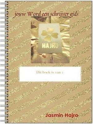 cover image of jouw Word een schrijver gids