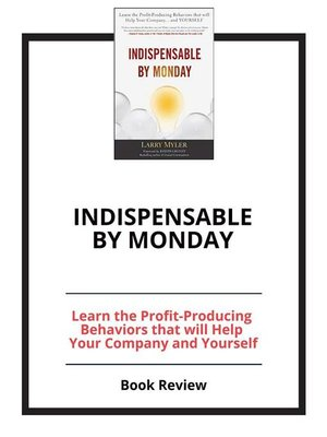 cover image of Indispensable by Monday