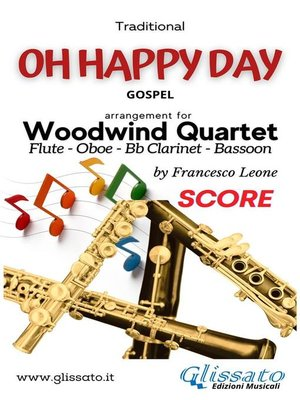 cover image of Oh Happy Day--Woodwind Quartet (score)