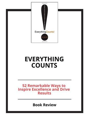cover image of Everything Counts
