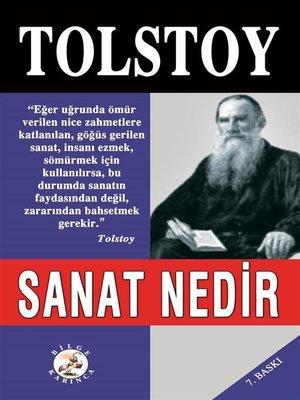 cover image of Sanat Nedir?