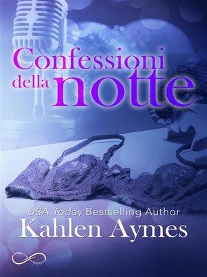 cover image of Confessioni della notte