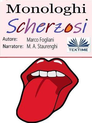 cover image of Monologhi Scherzosi