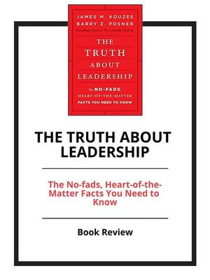 cover image of The Truth About Leadership