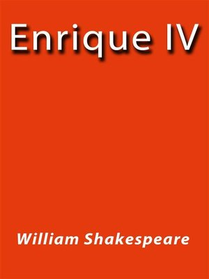 cover image of Enrique IV