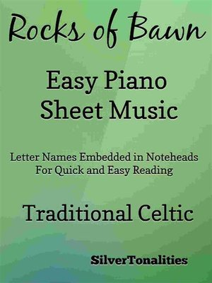 cover image of The Rocks of Bawn Easy Piano Sheet Music