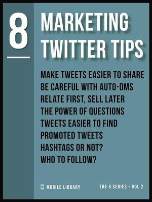 cover image of Marketing Twitter Tips 8
