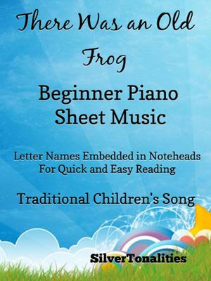 cover image of There Was an Old Frog Beginner Piano