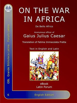 cover image of On the War In Africa