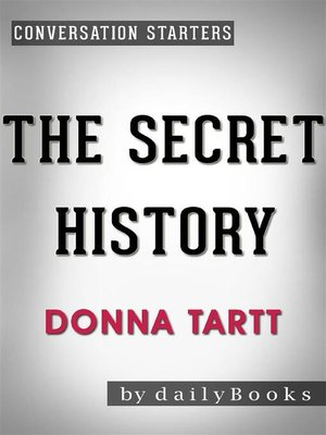 cover image of The Secret History--by Donna Tartt
