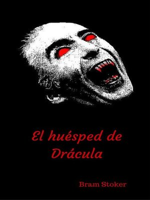cover image of El huésped de Drácula