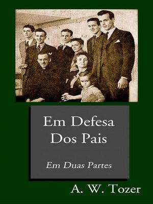 cover image of Em Defesa Dos Pais