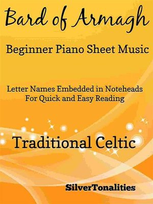 cover image of Bard of Armagh Beginner Piano Sheet Music