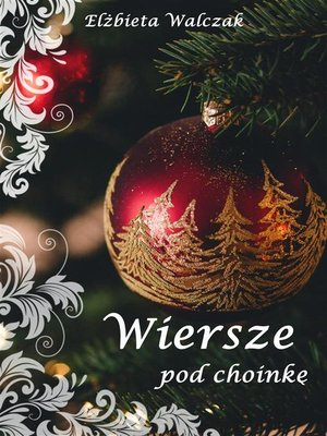 cover image of Wiersze pod choinkę