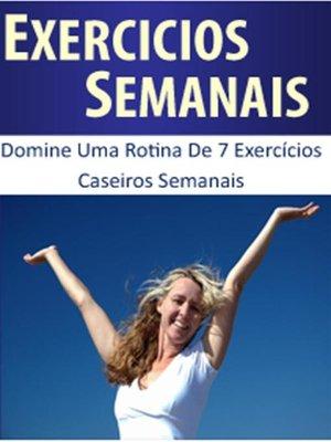 cover image of Exercícios semanais para perder peso rápido