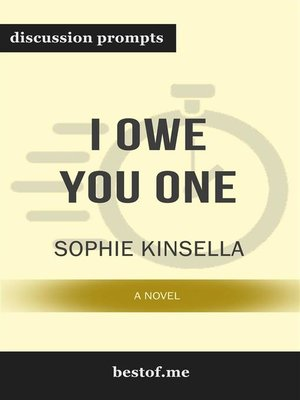 "cover image of Summary--""I Owe You One--A Novel"" by Sophie Kinsella 