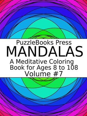 cover image of PuzzleBooks Press Mandalas--Volume 7