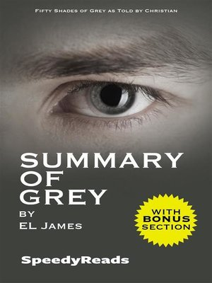 cover image of Summary of Grey--Fifty Shades of Grey as Told by Christian (Fifty Shades of Grey Series)--Finish Entire Novel in 15 Minutes