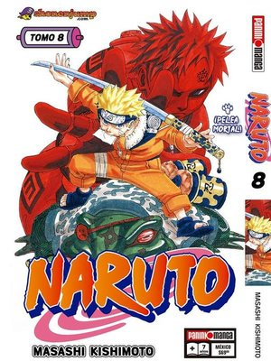 cover image of Naruto 8