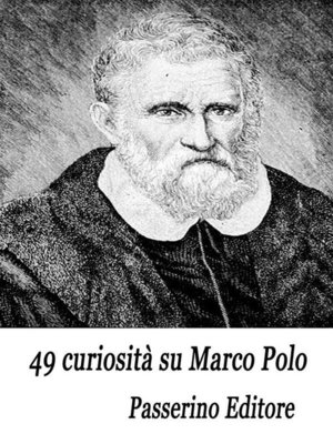 cover image of 49 curiosità su Marco Polo