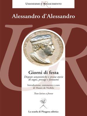 cover image of Giorni di festa