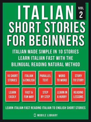 cover image of Italian Short Stories For Beginners (Vol 2)