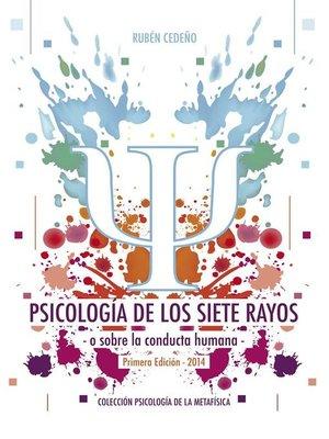 cover image of Psicología de los Siete Rayos