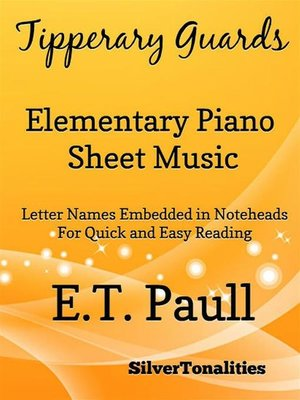 cover image of Tipperary Guards Elementary Piano Sheet Music