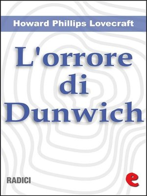 cover image of L'Orrore di Dunwich (The Dunwich Horror)