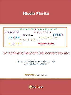 cover image of Anatocismo – Le anomalie bancarie sul conto corrente