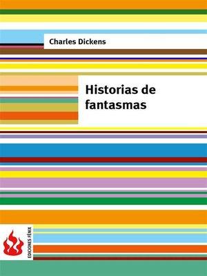 cover image of Historias de fantasmas (low cost). Edición limitada