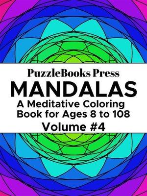 cover image of PuzzleBooks Press Mandalas – Volume 4