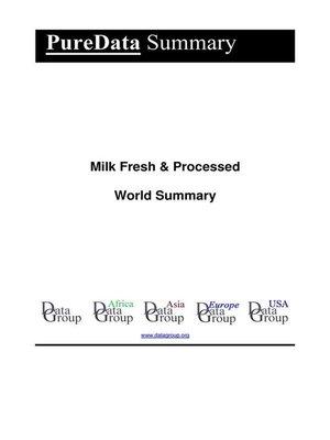 cover image of Milk Fresh & Processed World Summary