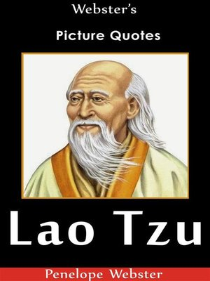 cover image of Webster's Lao Tzu Picture Quotes