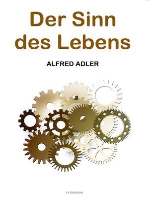 cover image of Der Sinn des Lebens
