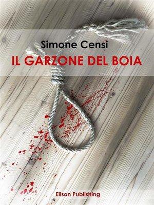 cover image of Il garzone del boia