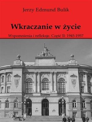 cover image of Wkraczanie w życie