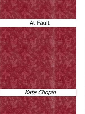 cover image of At Fault