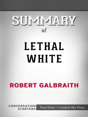 cover image of Lethal White--by Robert Galbraith​​​​​​​ | Conversation Starters