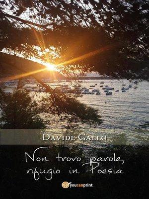 cover image of Non trovo parole, rifugio in Poesia