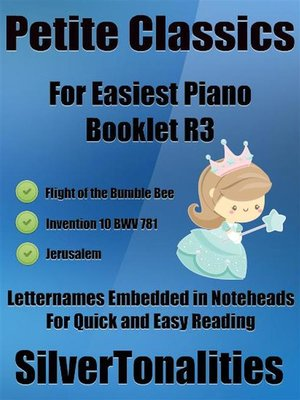 cover image of Petite Classics for Easiest Piano Booklet R3