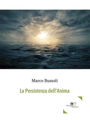 cover image of La Persistenza dell'Anima