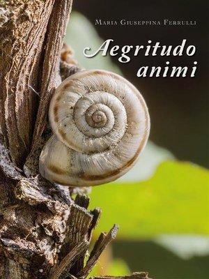 cover image of Aegritudo animi