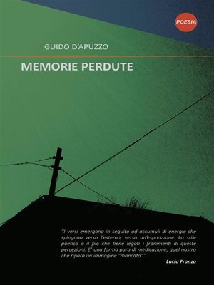 cover image of Memorie perdute