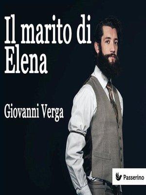 cover image of Il marito di Elena