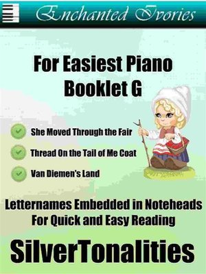cover image of Enchanted Ivories for Easiest Piano Booklet G