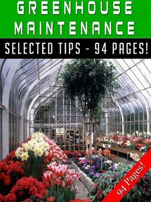 cover image of Greenhouse Maintenance