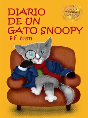 cover image of Diario de un gato Snoopy